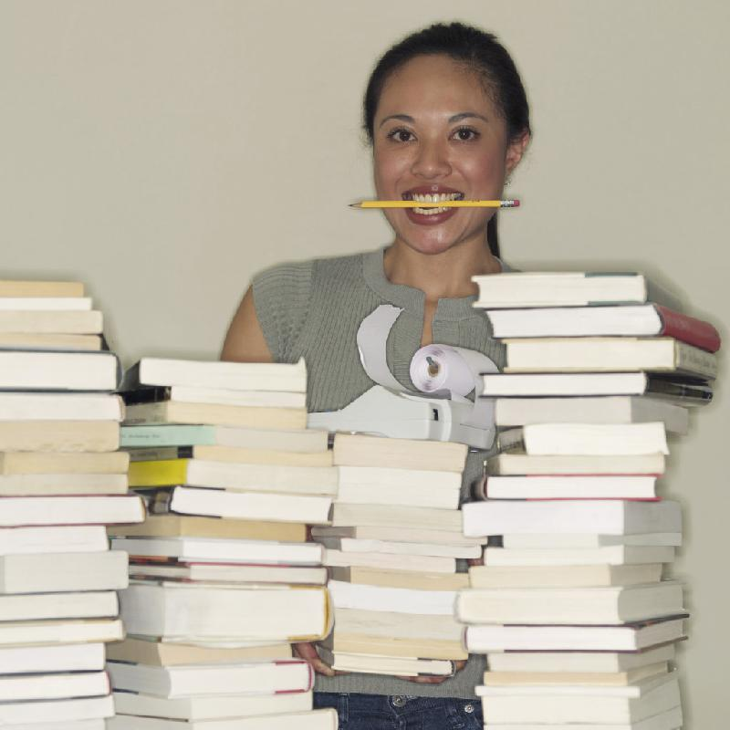 lady/books