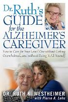 Dr. Ruth's new book for Alzheimer's Caregivers