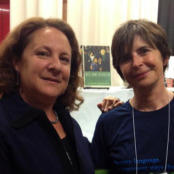 #MLA14 Carla Kaplan and SabbaticalHomes.com founder, Nadege Conger