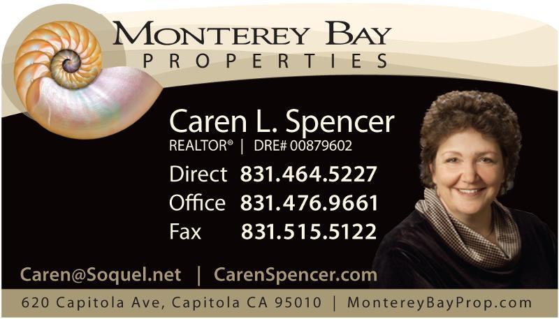 Caren business card