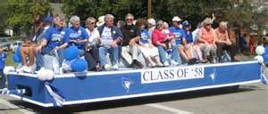 alumni float