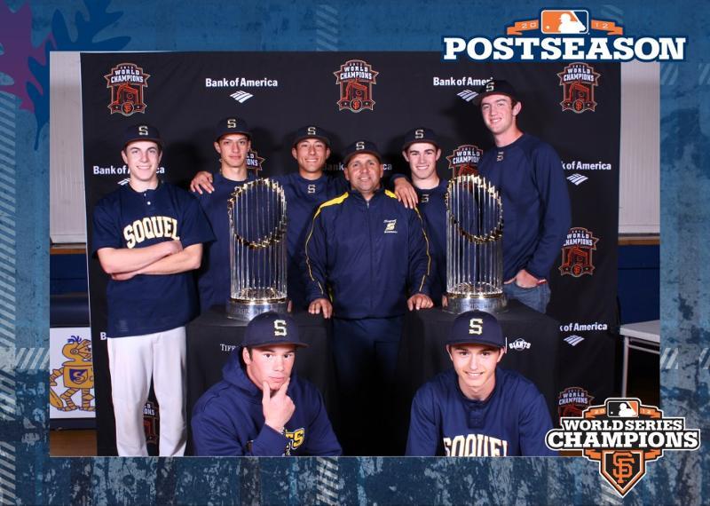 Baseball team& SF giants tropy 3/13