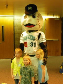 Slider the Rochester Honkers mascot