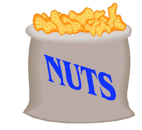 Nuts in a bag