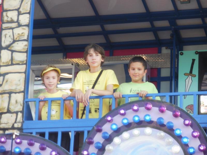 Robby, Max, Alex at State Fair 2012