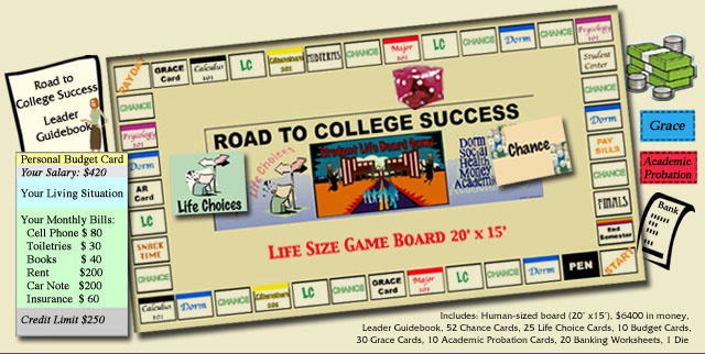 Road To College Success Game Picture Stylized
