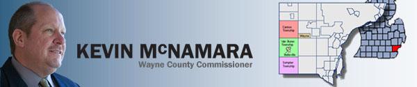 Wayne County Commissioner Kevin McNamara