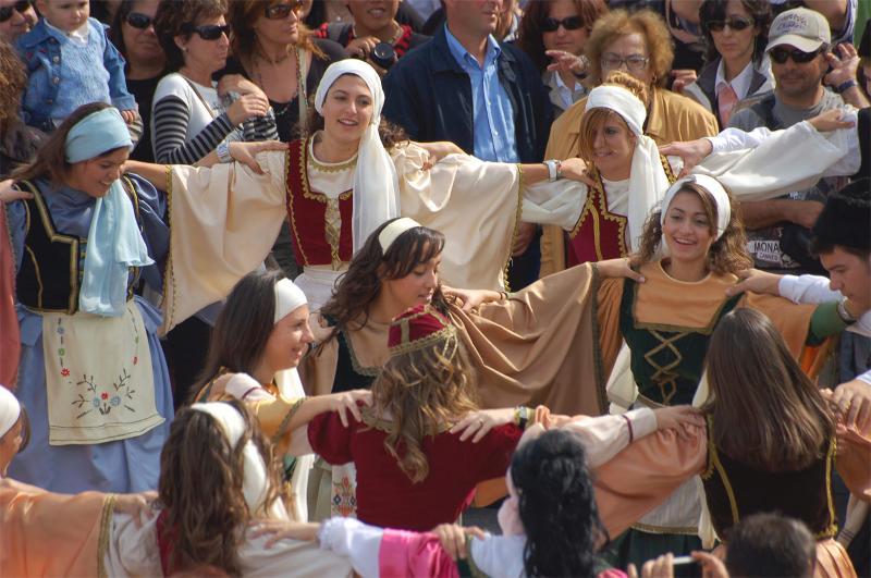 Sirtaki Dancers Mikonos , Grece