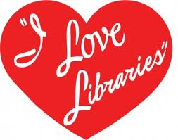I Love Libraries Logo