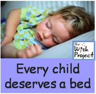 child needs bed pic