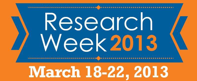 Research Week 2013