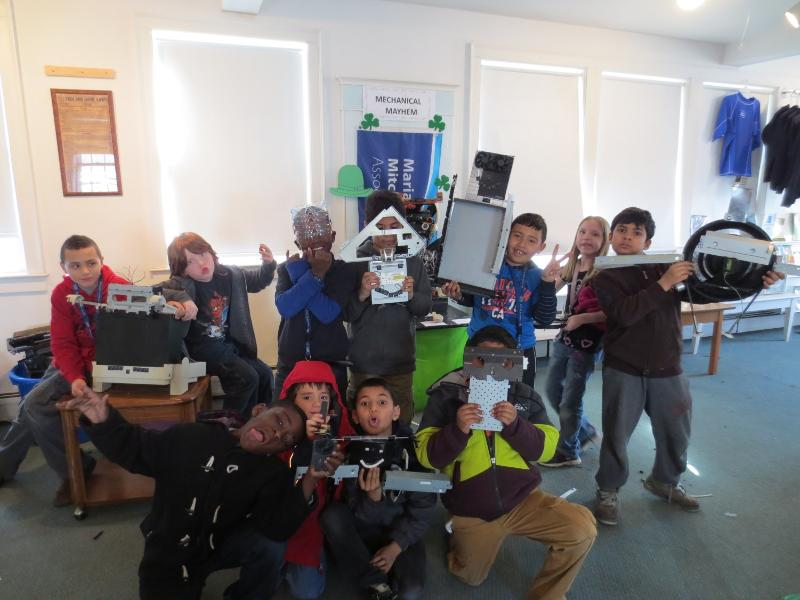 MMA Robot field trip 2