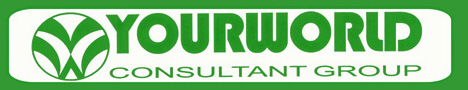 Logo green background
