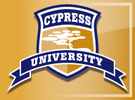 Cypress University logo