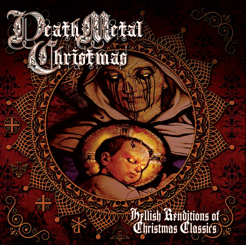 on november 29th hate eternal bass wizard jj hrubovcak unleashed death metal christmas hellish renditions of christmas classics upon riotous black - Metal Christmas Music