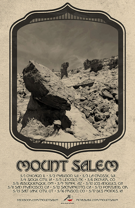 The Ripple Effect: MOUNT SALEM: Chicago Psychedelic Doom Conjurors Announce Headlining Tour