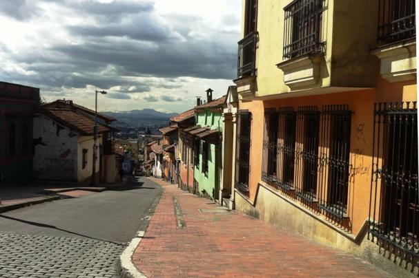 Street in Bogota