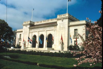 Organization of American States building in Washington, D.C., site of upcoming training program.