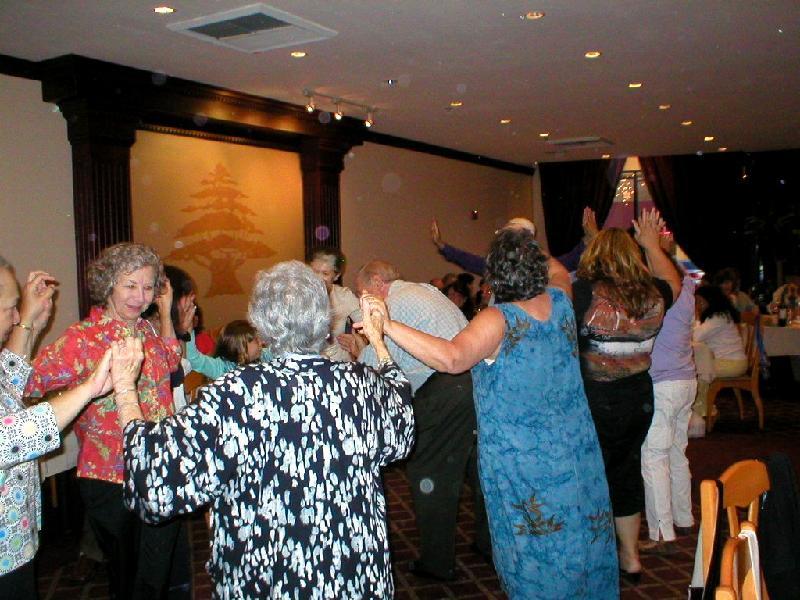 Dancers at Tannourine, 8/09