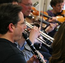 musicians at KlezCalifornia workshop