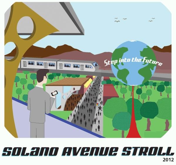 Solano Stroll 2012 artwork