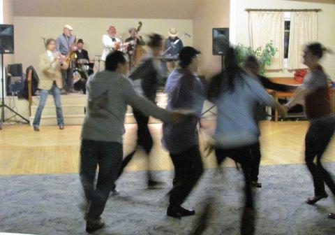 Students dancing in Cotati
