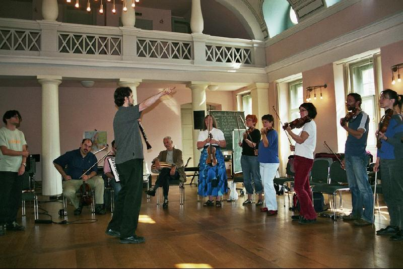 Klezmer class with adults