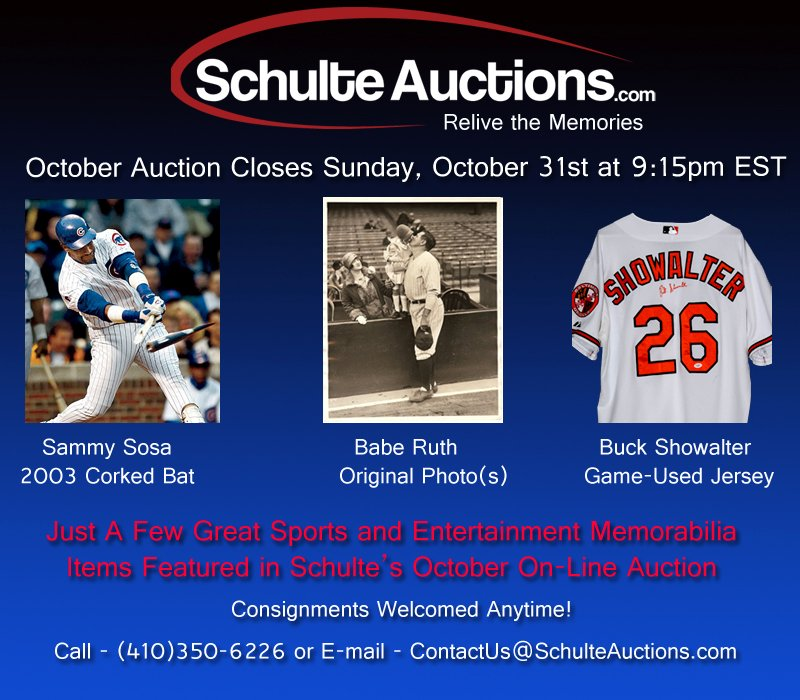 Schulte October 2 Auction