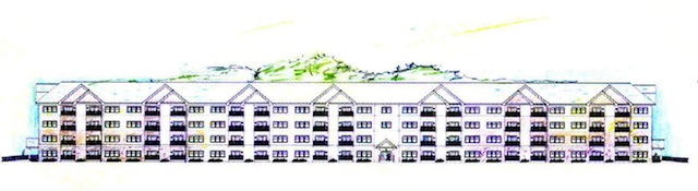 Apartments at Rolling Green rendering
