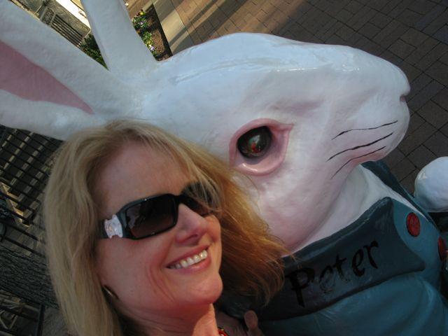 JIll and Peter Rabbit