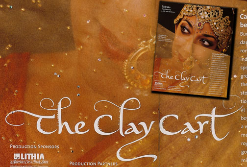 The Clay Cart lettering