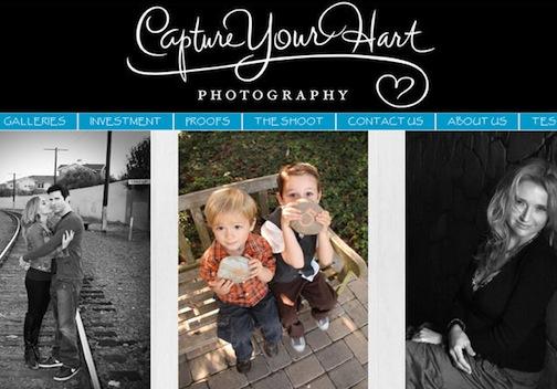 Capture Your Hart web site