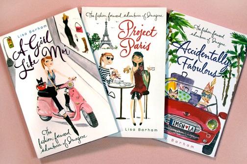 Imogene book covers