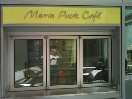 Maria Puck Cafe logotype
