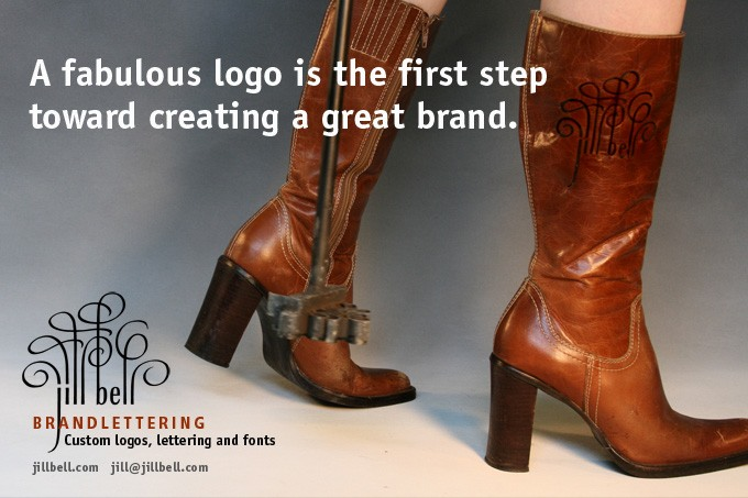 Branded boots