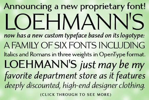 Loehmann's type sample