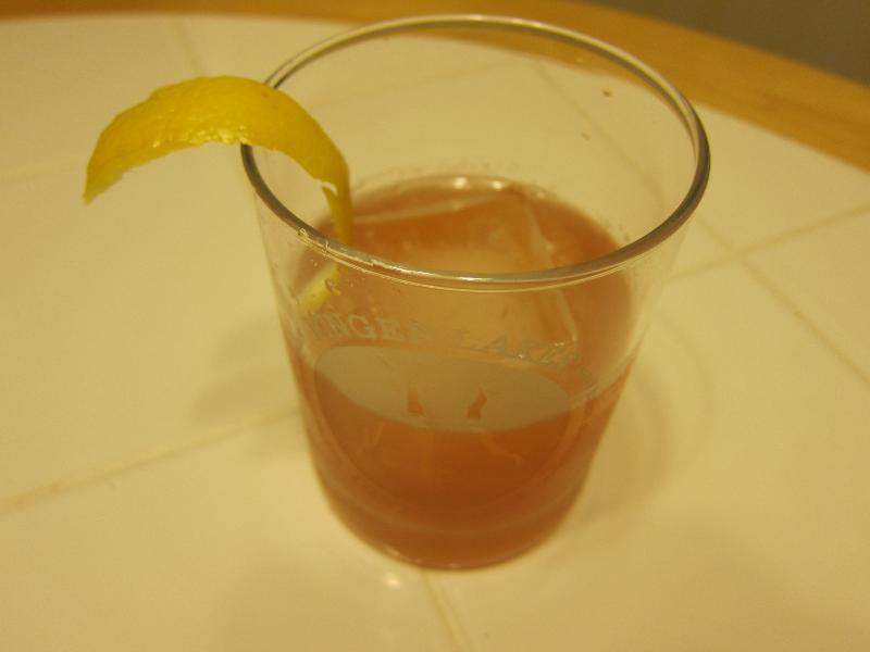 rye and rhubarb