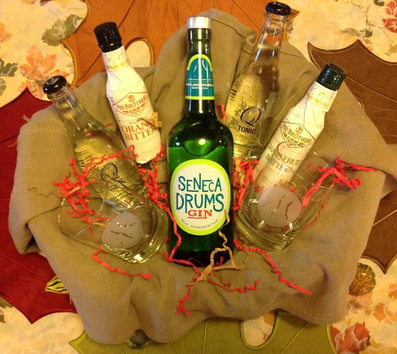 Gin and Tonic Basket