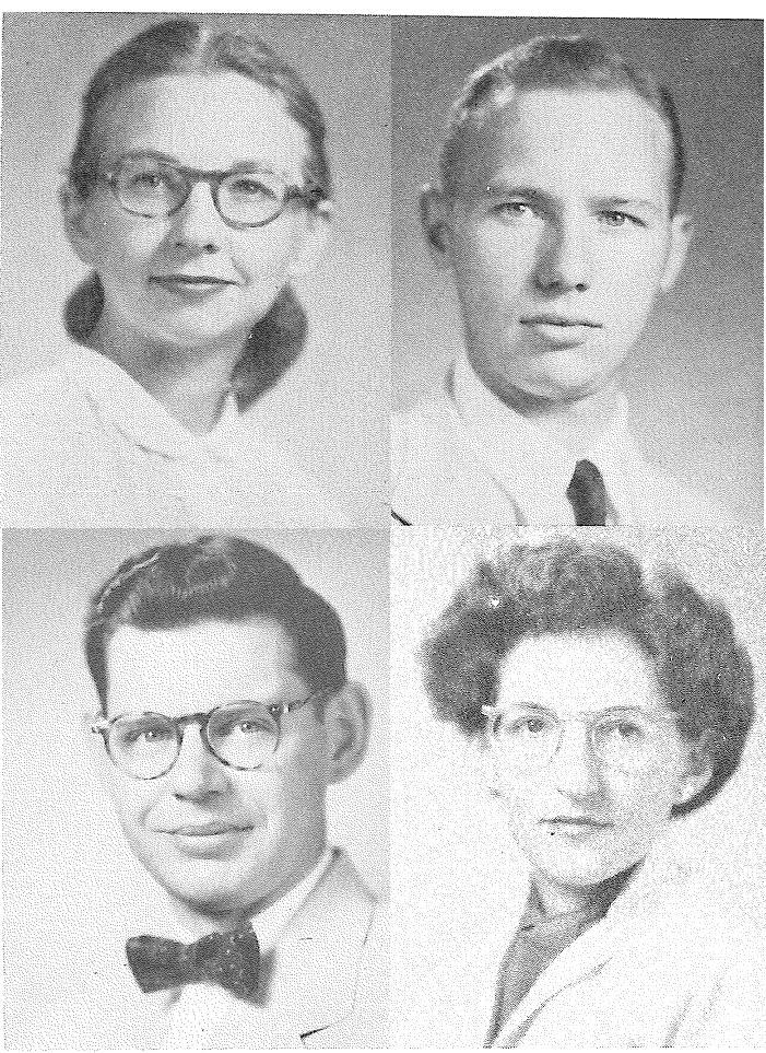 4 original faculty members