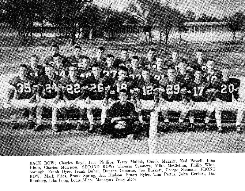 1960-61 Spartan football team