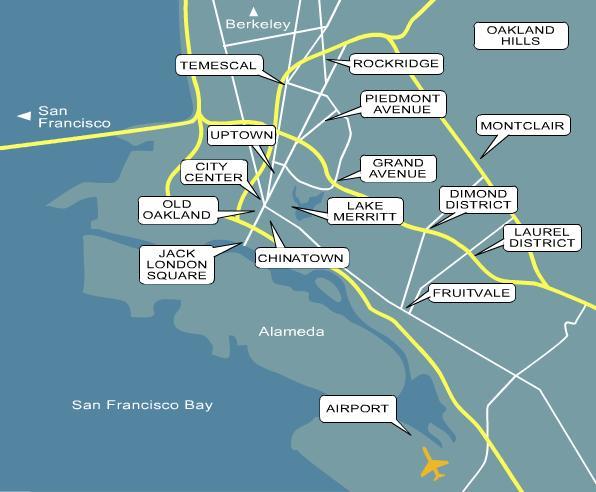 Oakland Maps