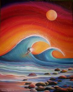 surf painting - 1
