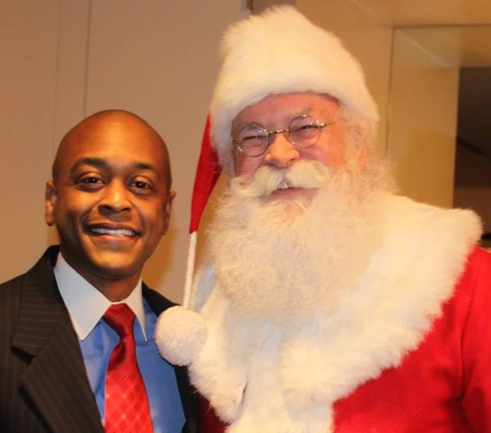 Algenon and Santa