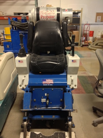 Blastrac BMS Floor Scraper For Sale - Used floor scraper machine for sale
