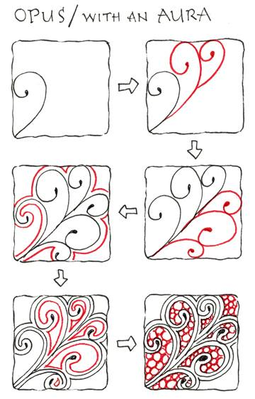 Zentangles Patterns Step By Step Zentangle Patterns Step by
