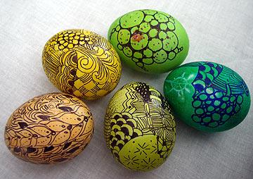 zentangle-easter-egg