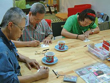 Singapore Zentangle friends
