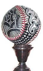 Zentangle baseball