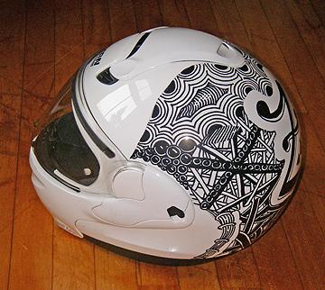 Helmet view 2