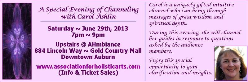 Carol Ashlin - AHAA - Auburn Event